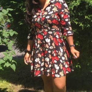 Long sleeve dress from zara